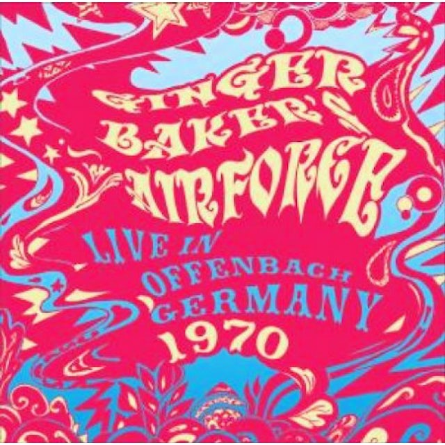Ginger Baker LIVE IN OFFENBACH GERMANY 1970 CD
