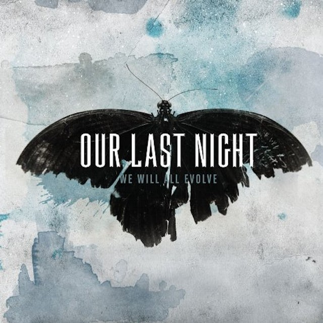 Our Last Night WE WILL ALL EVOLVE CD