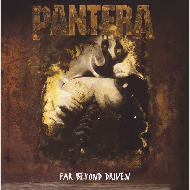 Pantera FAR BEYOND DRIVEN Vinyl Record