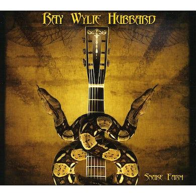 Ray Wylie Hubbard SNAKE FARM CD
