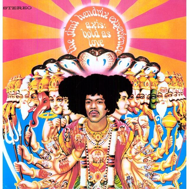 Jimi Hendrix AXIS: BOLD AS LOVE Vinyl Record - 180 Gram Pressing, Deluxe Edition