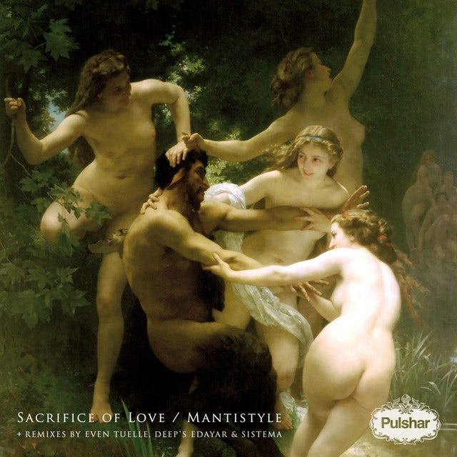 Pulshar SACRIFICE OF LOVE / MANTISTYLE Vinyl Record