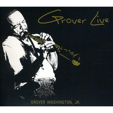Grover Washington Jr GROVER LIVE CD