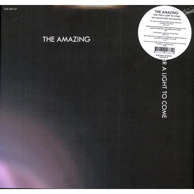 Amazing WAIT FOR A LIGHT TO COME Vinyl Record