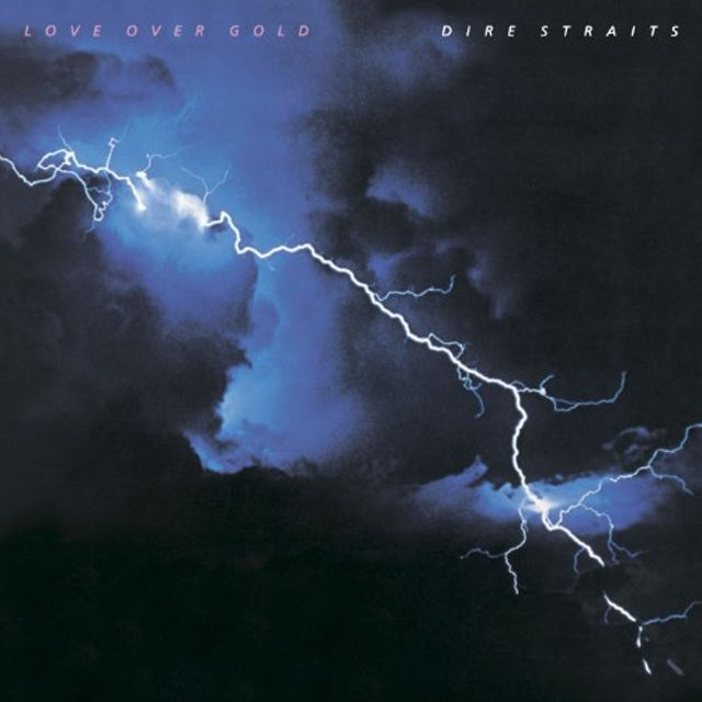 Dire Straits LOVE OVER GOLD Vinyl Record
