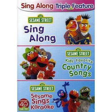 Sesame Street SING ALONG FUN PACK DVD
