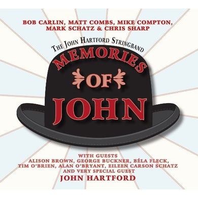 John Hartford MEMORIES OF JOHN CD
