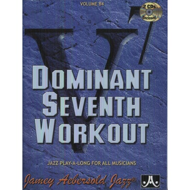 Jamey Aebersold DOMINANT 7TH WORKOUT CD