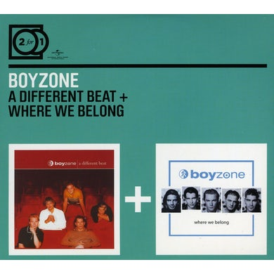 Boyzone DIFFERENT BEAT / WHERE WE BELONG CD
