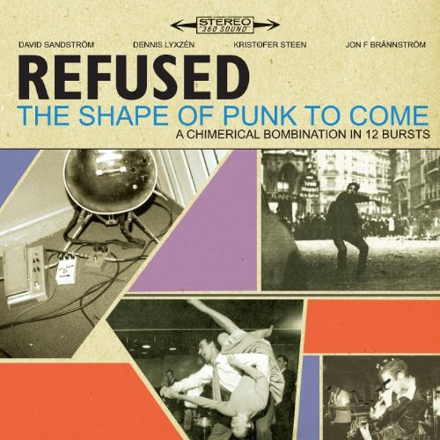 Refused SHAPE OF PUNK TO COME Vinyl Record