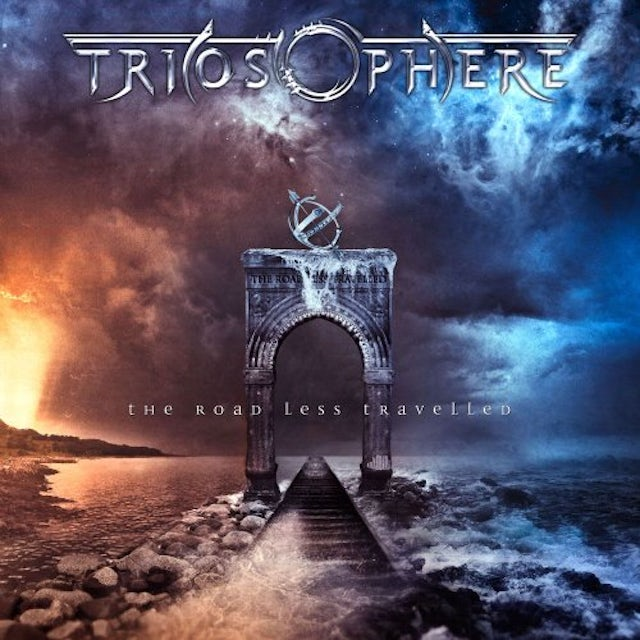 Triosphere ROAD LESS TRAVELLED CD
