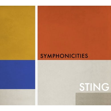 Sting SYMPHONICITIES CD