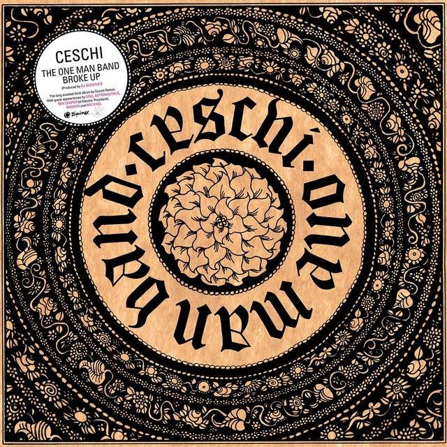 Ceschi ONE MAN BAND BROKE UP Vinyl Record