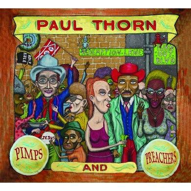 Paul Thorn PIMPS & PREACHERS CD
