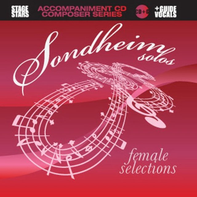 Karaoke SONDHEIM SOLOS FEMALE SELECTIONS CD