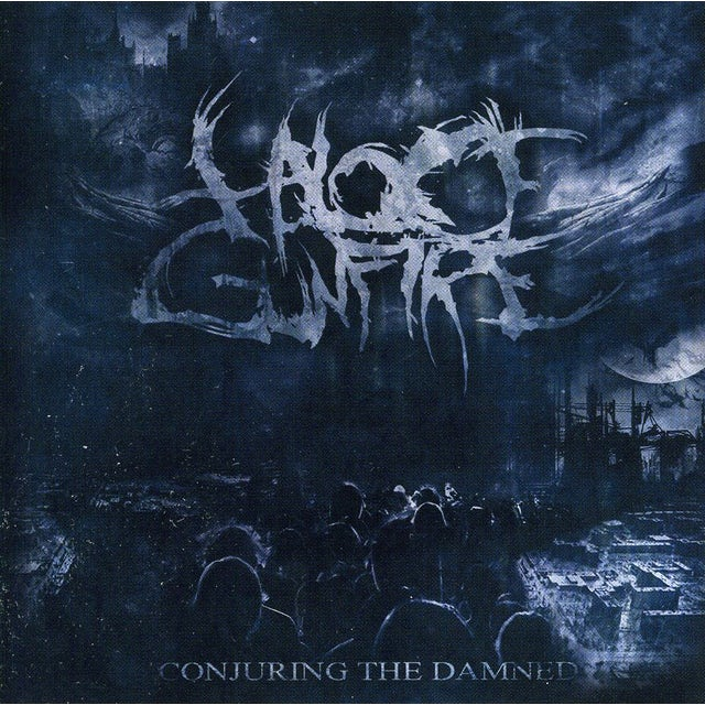 Halo Of Gunfire CONJURING THE DAMNED CD