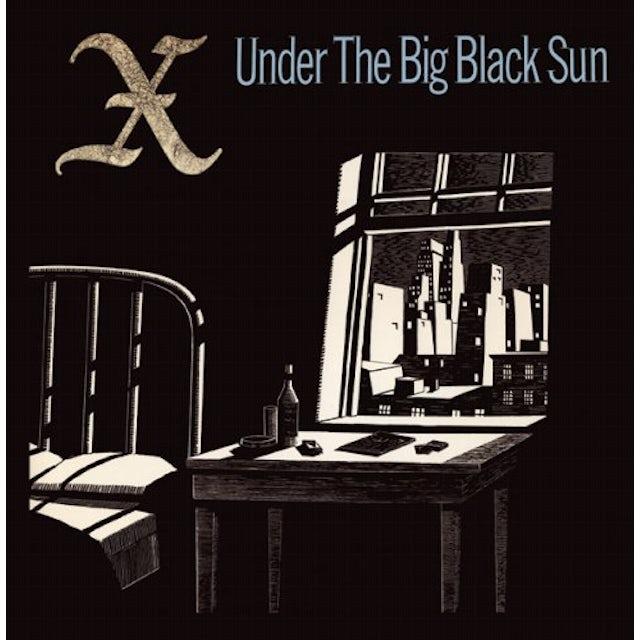 X UNDER THE BIG BLACK SUN Vinyl Record