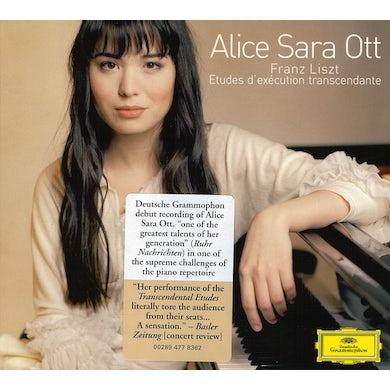 Alice Sara Ott LISZT: 12 ETUDES D'EXECUTION TRANSCENDANTE CD