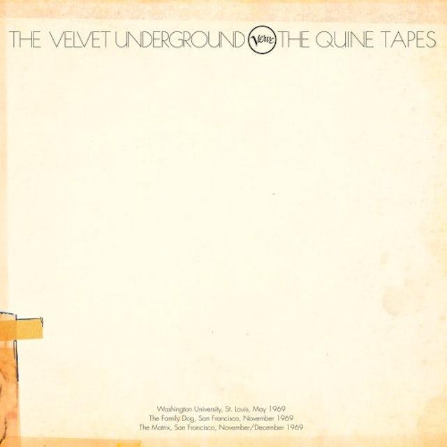 The Velvet Underground QUINE TAPES Vinyl Record