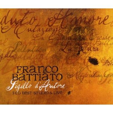 Franco Battiato SIGILLO DAUTORE CD