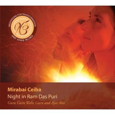 Mirabai Ceiba NIGHT IN RAM DAS PURI CD