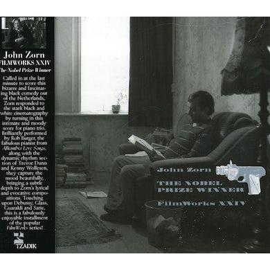 John Zorn FILMWORKS XXIV: NOBEL PRIZEWINNER / Original Soundtrack CD