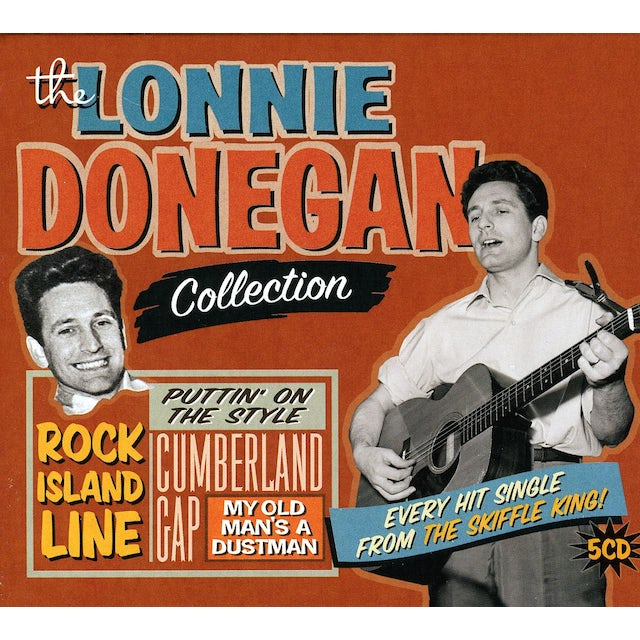 Lonnie Donegan SKIFFLE KING COLLECTION CD