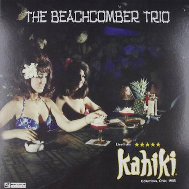 Beachcomber Trio LIVE AT KAHIKI 1965 Vinyl Record