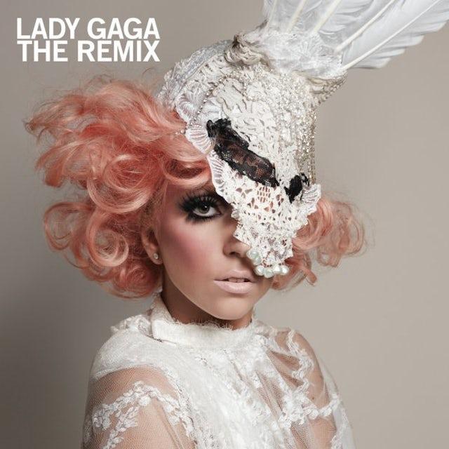 Lady Gaga REMIX Vinyl Record