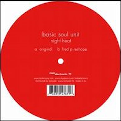 Basic Soul Unit NIGHT HEAT Vinyl Record