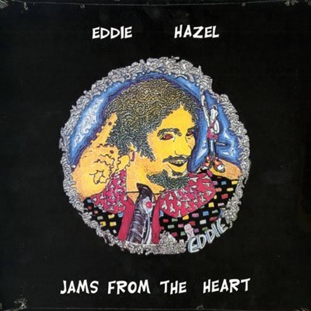 Eddie Hazel JAMS FROM THE HEART Vinyl Record