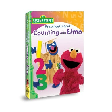 Sesame Street PRESCHOOL IS COOL: COUNTING WITH ELMO DVD