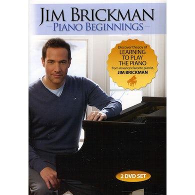 Jim Brickman PIANO BEGINNINGS DVD