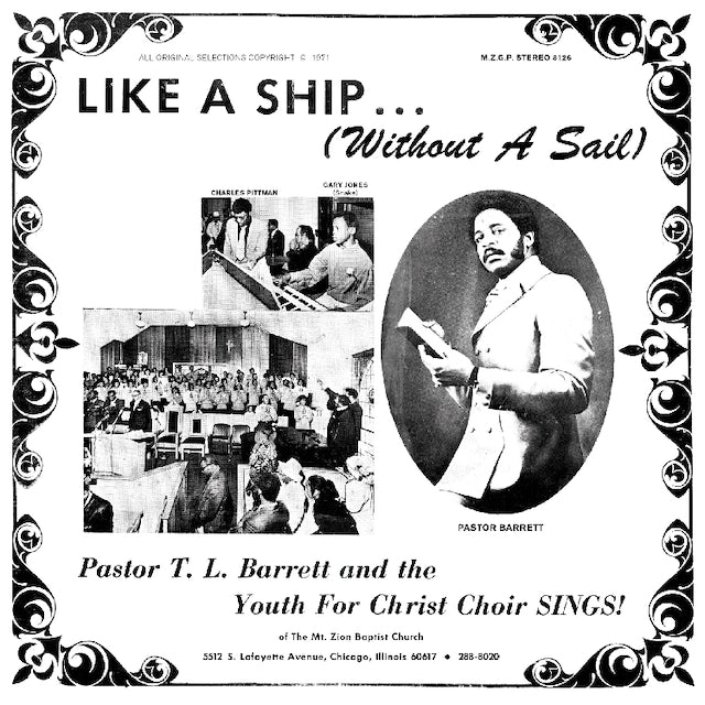 Tl / Youth For Christ Choir Barrett LIKE A SHIP WITHOUT A SAIL Vinyl Record