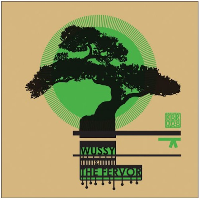 Wussy & The Fervor GREEN BELT (EP) Vinyl Record - Limited Edition