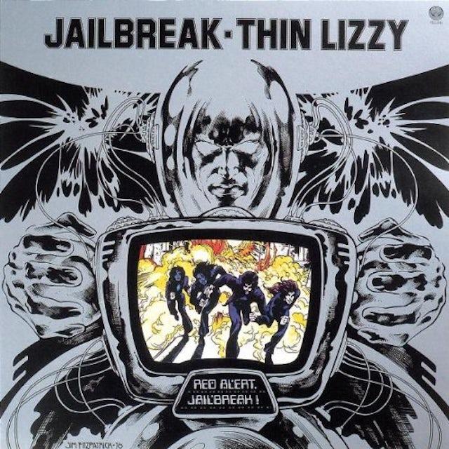 Thin Lizzy JAILBREAK Vinyl Record - UK Release