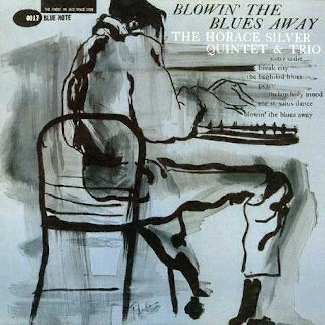 Horace Silver BLOWIN THE BLUES AWAY Vinyl Record