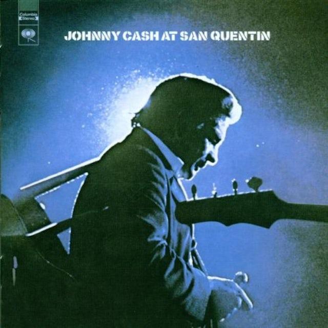 Johnny Cash AT SAN QUENTIN Vinyl Record - 180 Gram Pressing, Remastered