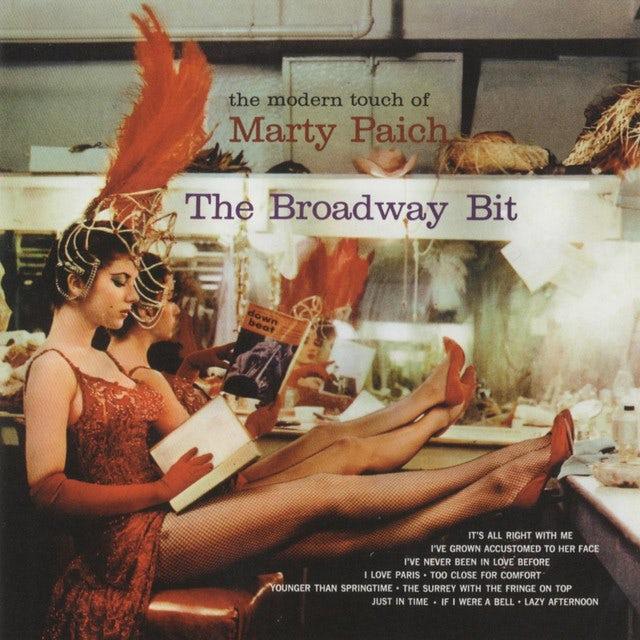 Marty Paich BROADWAY BIT (BONUS TRACKS) Vinyl Record - 180 Gram Pressing