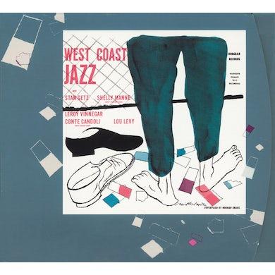 Stan Getz WEST COAST JAZZ (BONUS TRACK) Vinyl Record - 180 Gram Pressing