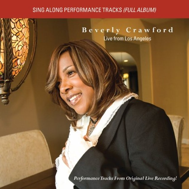 Beverly Crawford LIVE FROM LOS ANGELES 2 (PERFORMANCE TRACKS) CD