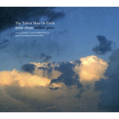 The Tallest Man On Earth SHALLOW GRAVE CD