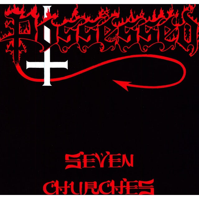 Possessed SEVEN CHURCHES Vinyl Record