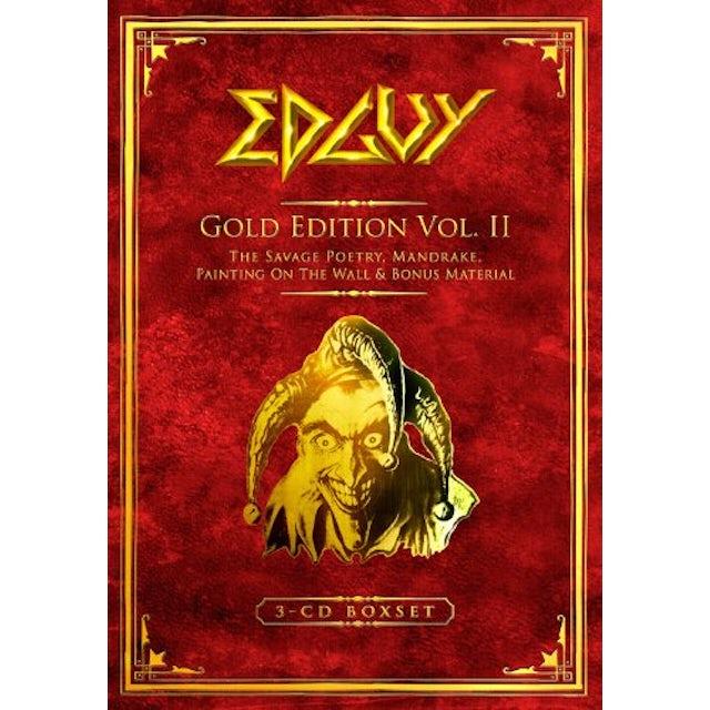 Edguy LEGACY (GOLD EDITION) CD