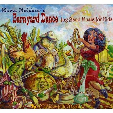 Maria Muldaur BARNYARD DANCE: JUG BAND MUSIC FOR KIDS CD