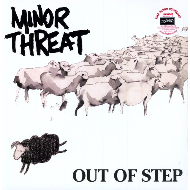 Minor Threat OUT OF STEP Vinyl Record