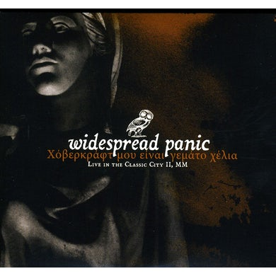 Widespread Panic LIVE IN THE CLASSIC CITY II CD