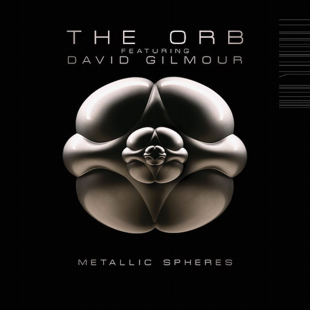 Orb Featuring David Gilmour METALLIC SPHERES Vinyl Record