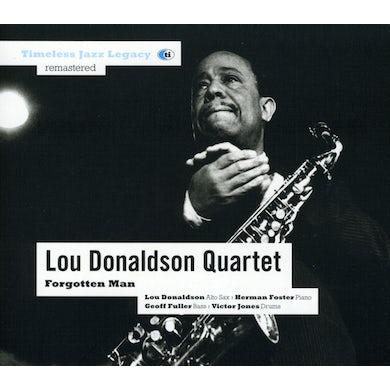 Lou Donaldson FORGOTTEN MAN CD