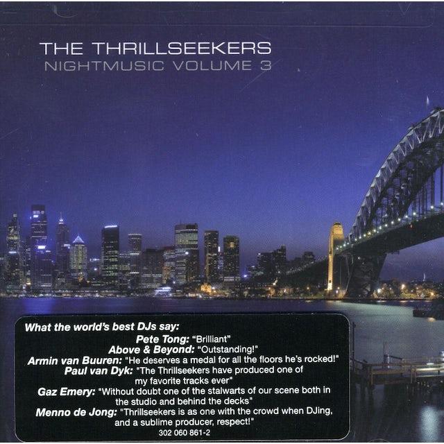 Thrillseekers NIGHTMUSIC 3 CD